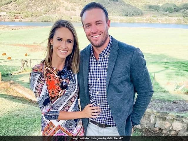 """Watch: AB De Villiers """"Boring Meditation Routine"""" Takes His Wife By """"Surprise"""""""