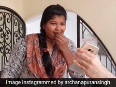 अर्चना पूरन सिंह ने अपनी हाउसमेड को इस तरह बनाया स्टार, Video शेयर कर बोलीं- भाग्यश्री रॉक्स...
