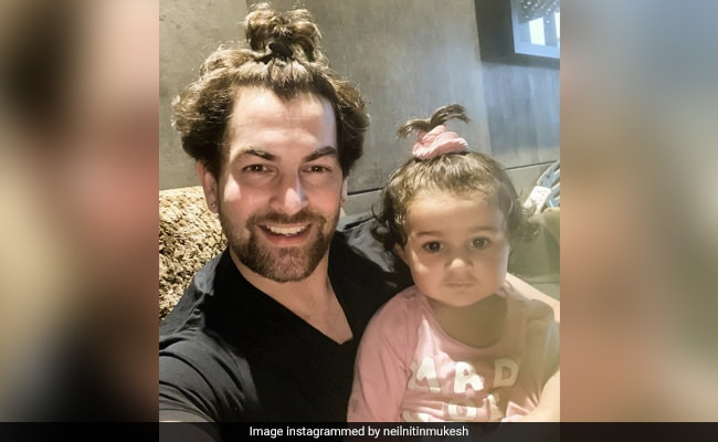 How Neil Nitin Mukesh's Daughter Nurvi 'Convinced' Him To Tie His Hair In A Ponytail