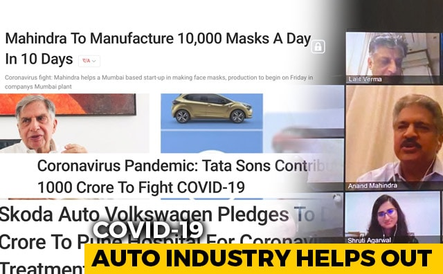 Video : COVID-19; How Auto Industry Is Helping Out