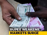 Video : Rupee Drops Below 76.87 To New All-Time Low