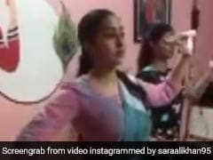 सारा अली खान ने जबरदस्त अंदाज में किया क्लासिकल डांस, 15 लाख से भी ज्यादा बार देखा गया Video