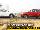 Video : Hyundai Kona Electric Vs MG ZS EV