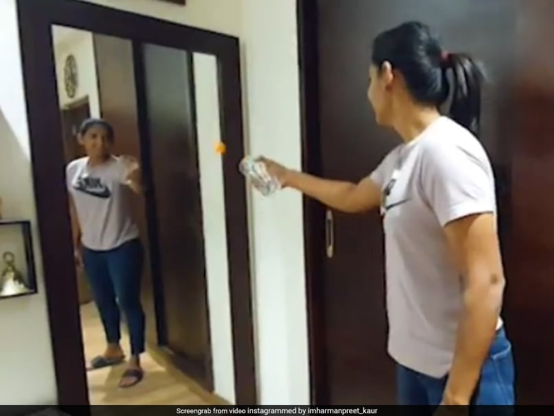 Harmanpreet Kaur's Magic Trick Leaves Fans Stumped. Watch | Cricket News