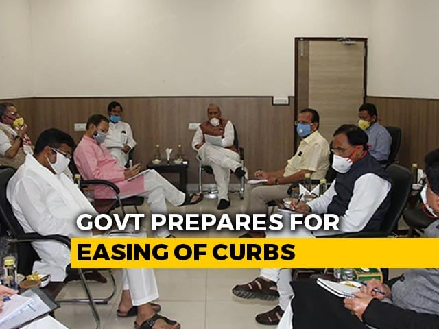 Video : Rajnath Singh Chairs COVID-19 Meet, Opening Of Activities Discussed