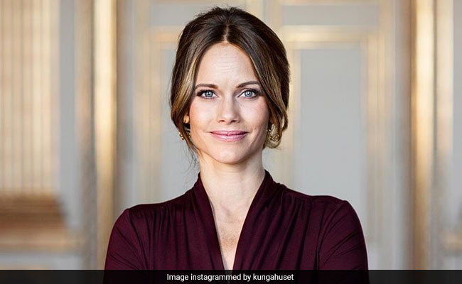 Princess Sofia Of Sweden Starts Work At Hospital Treating COVID Patients