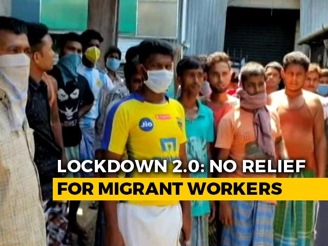 Video : Stranded Migrant Workers In Kerala Desperate To Return Home
