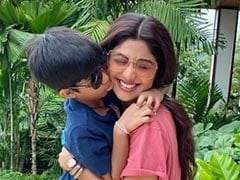 """Crafting Memories"": Pages From Shilpa Shetty's Mother-Son Diaries With Viaan"
