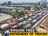 Video : Trucks Don't Need Special Passes, Driver's License Enough: Home Ministry