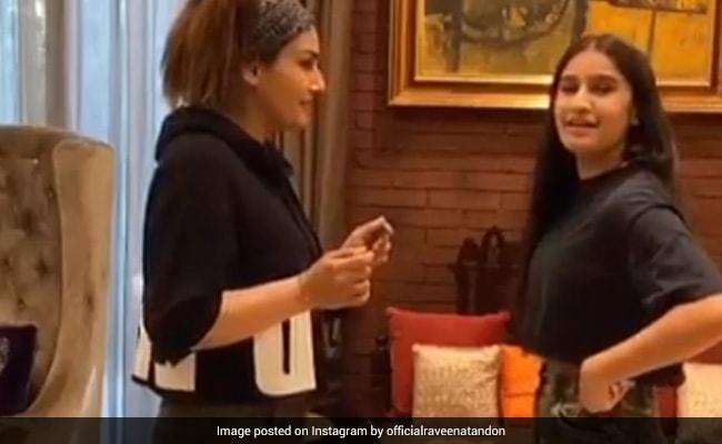Raveena Tandon And Daughter Rasha Go Oh Nanana In ROFL TikTok Video