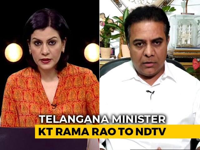 Video : KCR Wants Lockdown Extended: Telangana Minister KT Rama Rao