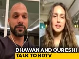 Video : We Are Together In The Fight Against COVID-19: Huma Qureshi And Shikhar Dhawan