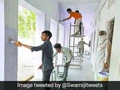 Rajasthan: स्कूल को बनाया गया था आइसोलेशन सेंटर, वहां रह रहे मजदूरों ने इस तरह कर दिया कायापलट