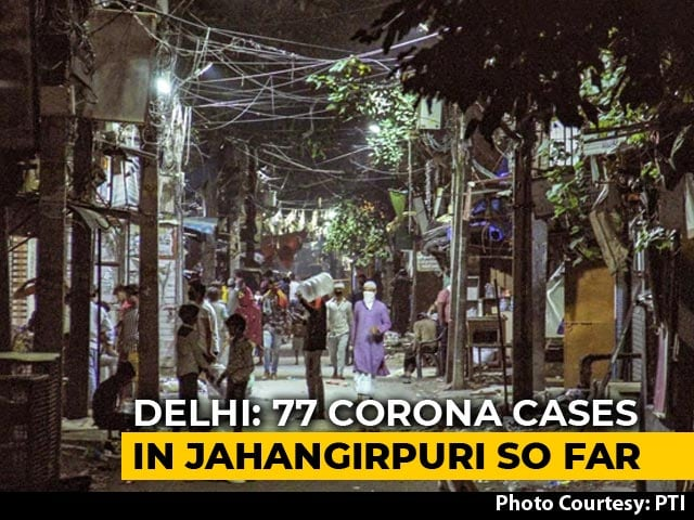 Video : Delhi Reports 2 Coronavirus Clusters: 46 In One Locality, 11 Of Family
