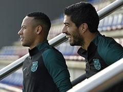 Neymar Welcome Anytime At Barcelona, Says Luis Suarez