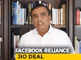 "Video : ""Facebook-Jio Partnership Will Make India Leading Digital Society"": Mukesh Ambani"
