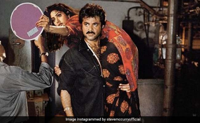 Anil Kapoor Tweets Behind-The-Scenes Pic Which 'Brought Back Memories With Sridevi'