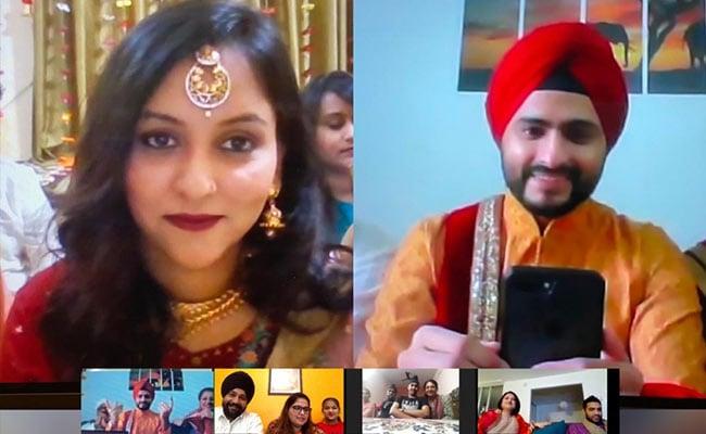 'I Do' In Lockdown: Delhi-Mumbai Couple's Virtual Wedding On Zoom Call