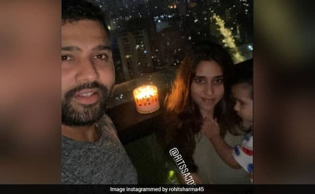 Rohit Sharma  tweeted stay-indoors during lighting lamps candles