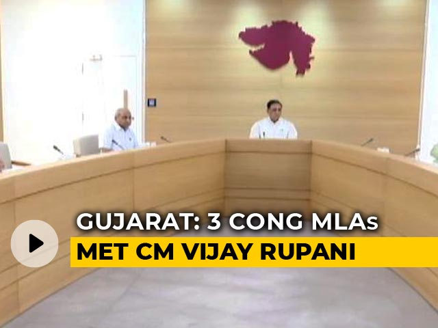 Video : Gujarat Congress MLA Tests COVID-19 Positive Hours After Meeting Chief Minister
