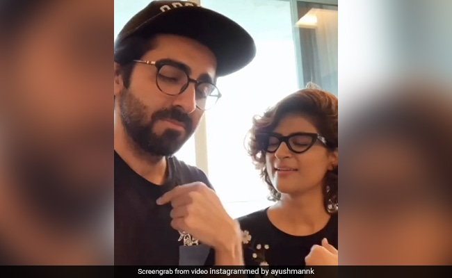Ayushmann Khurrana or Tahira Kashyap, who is a better half? The couple revealed in a tiktok video