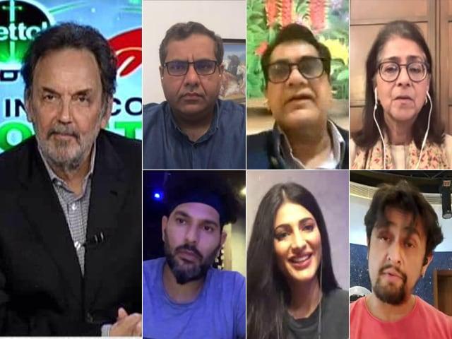 Video: #IndiaAgainstCOVID19 Telethon: India Joins Hands Against Novel Coronavirus