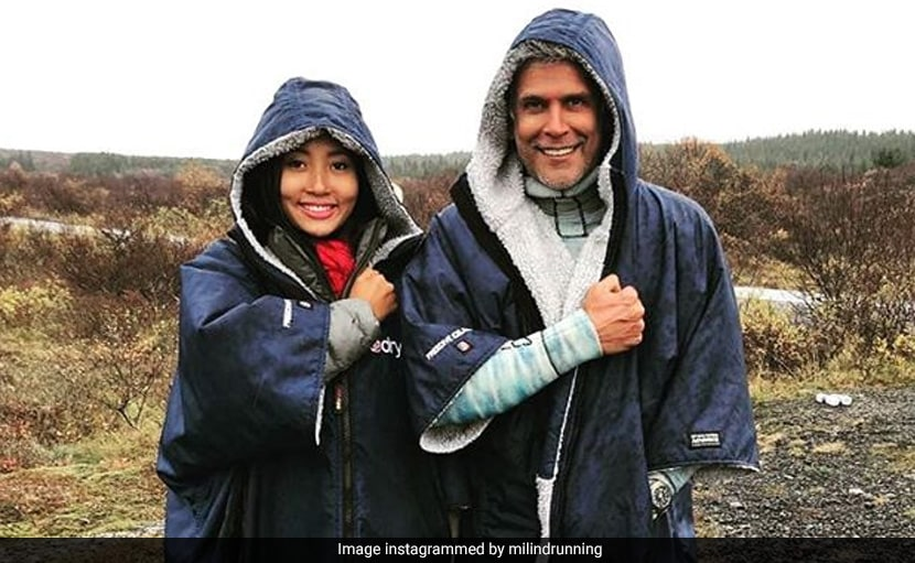 'Travel Tuesday': Milind Soman And Ankita Konwar's Picture Is All Sorts Of Couple Goals