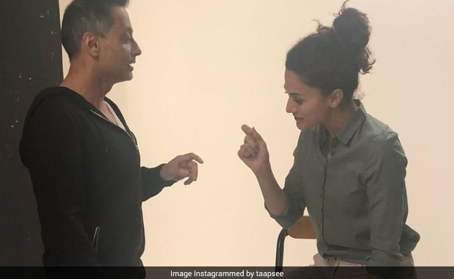 What Do Taapsee Pannu And Sujoy Ghosh Have 'Never-Ending Conversations' On? The Actress Spills The Beans