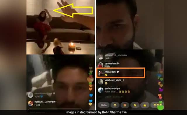 After Anushka Sharma, Ritika Sajdeh joins her husband Rohits Instagram live with Yuvraj