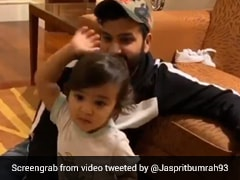 Jasprit Bumrah Shares Adorable Video Of Rohit Sharmas Daughter Trying To Copy His Action