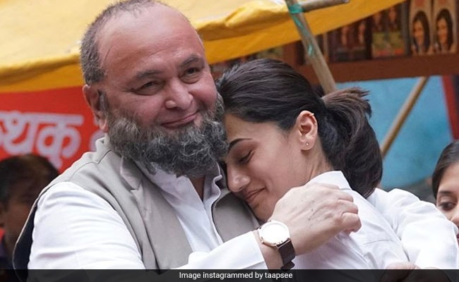 Taapsee Pannu Remembers Rishi Kapoor As Only Co-Star Who Could Beat Her At 'Being Brutally Honest'