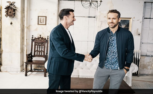 Not A Drill - Ryan Reynolds And Hugh Jackman Call 24-Hour Truce, All For Lemonade