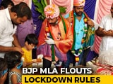 Video : Karnataka BJP MLA Throws Mega Birthday Bash Amid COVID-19 Lockdown