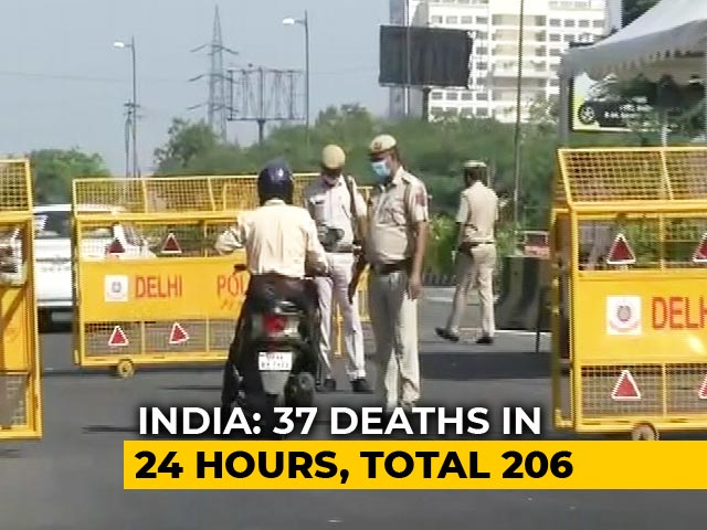Video : 37 Deaths, 896 New Coronavirus Cases In 24 Hours In India
