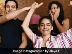अलाया ने मॉम पूजा बेदी को बताया 'ड्रामा क्वीन', Video में खुले परिवार के राज