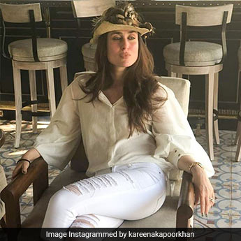 What The Ever-Stylish Kareena Kapoor Wears When She's Working From Home