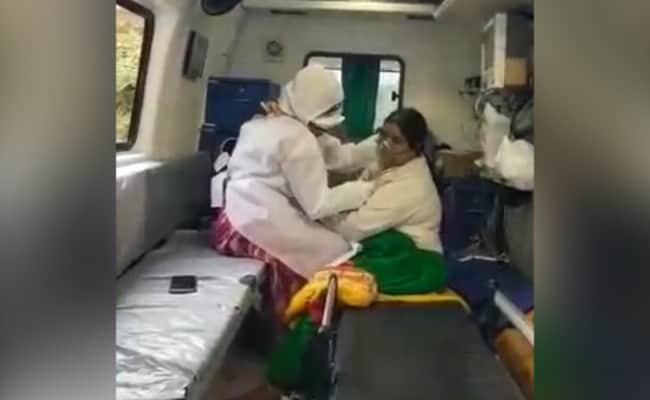 Lockdown: आईसीयू में लगा था ताला, गंभीर बीमार महिला ने गेट के बाहर दम तोड़ा
