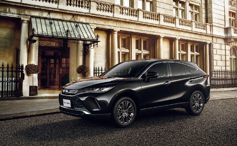 The Toyota Harrier is underpinned by the automaker's TNGA platform