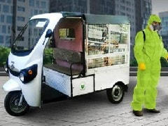 Kinetic Group Introduces Fogging & Spraying Electric Vehicles To Disinfect Localities