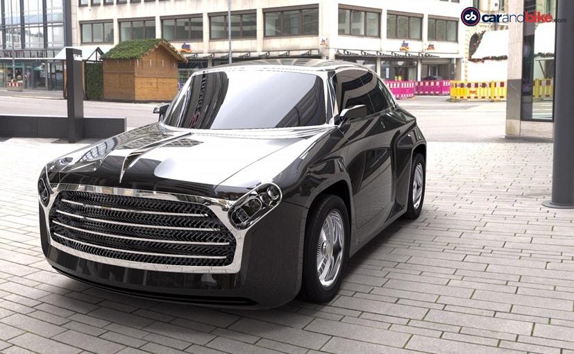 DC Design reinventa al embajador de Hindustan como un vehículo eléctrico 30