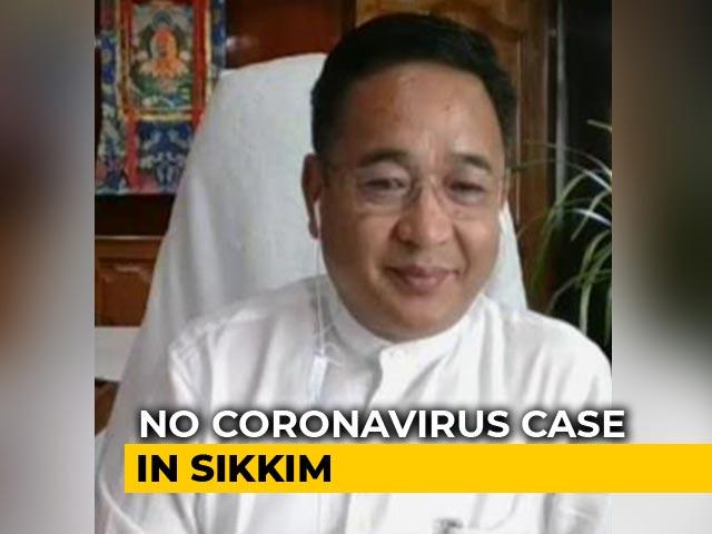 "Video : ""Sikkim's Discipline"": Chief Minister On State's Zero COVID-19 Cases"