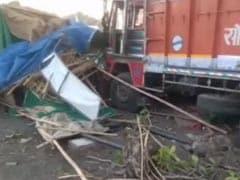 लॉकडाउन में फंसे जैसलमेर से लौटे मजदूरों को रात में ट्रक ने रौंदा, तीन की मौत