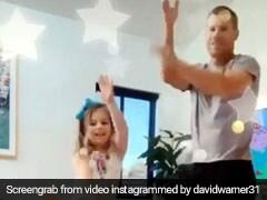 डेविड वॉर्नर ने बेटी संग किया 'शीला की जवानी...' गाने पर डांस, यूं मटकाई कमर- TikTok Video ने मचाया धमाल