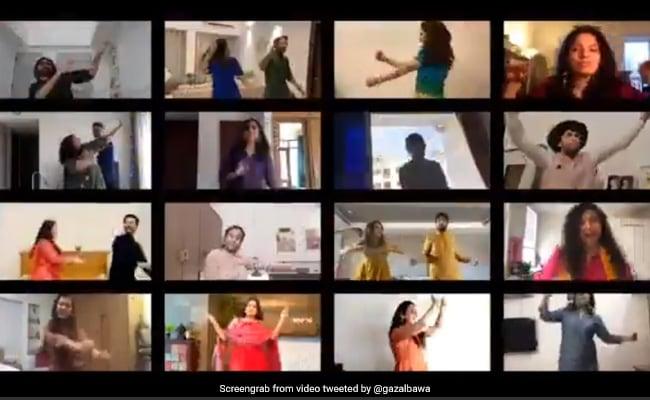 Wedding Postponed, Friends Throw Virtual Sangeet For Couple. Watch