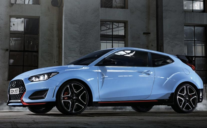 Hyundai Veloster N Debuts With An 8-Speed DCT