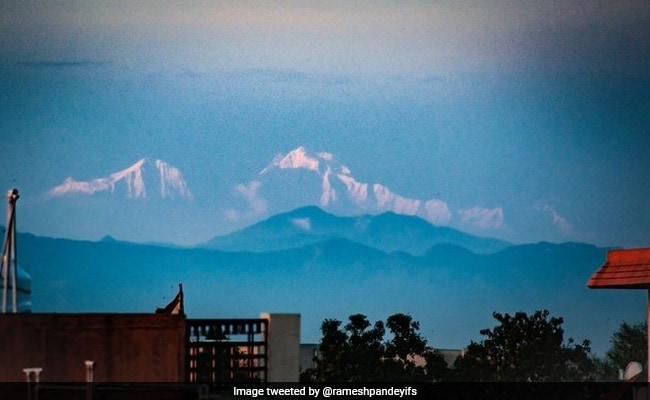 अब सहारनपुर से दिखने लगे हैं बर्फ से ढके हिमालय के पहाड़, देखें शानदार Photos