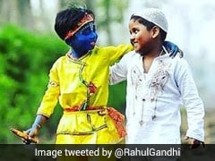 "Rahul Gandhi Tweets Pic Of 2 Boys With Message On ""Unity"" Amid COVID-19"