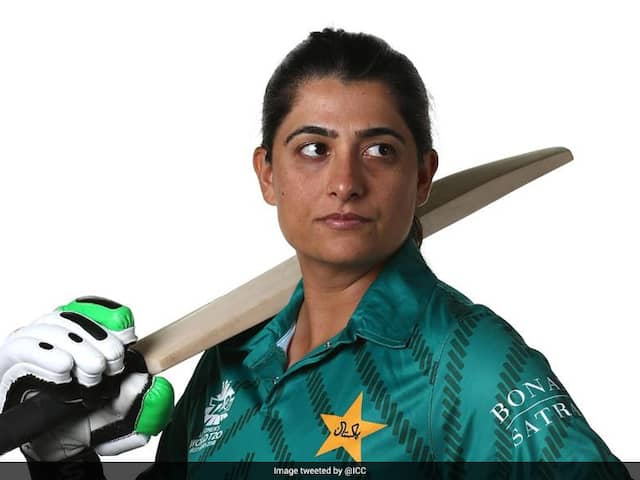 ICC Congratulates Pakistans Sana Mir For Excellent Career