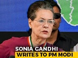 Video : PM Modi Asked For Suggestions, Sonia Gandhi Sends Five In Letter