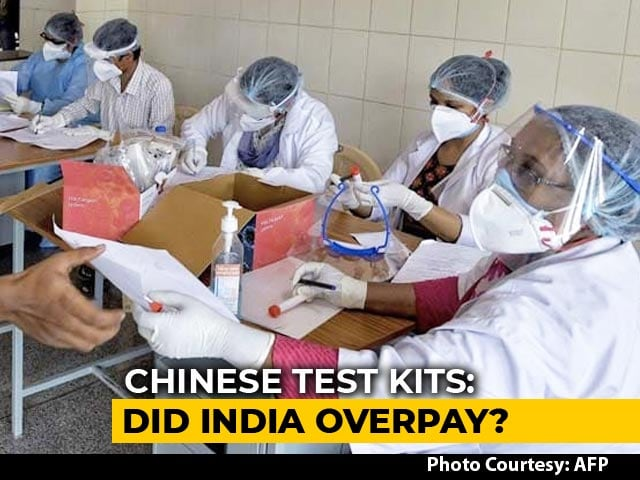 Video : Centre Cancels Chinese COVID-19 Test Kit Orders, Says Won't Lose A Rupee